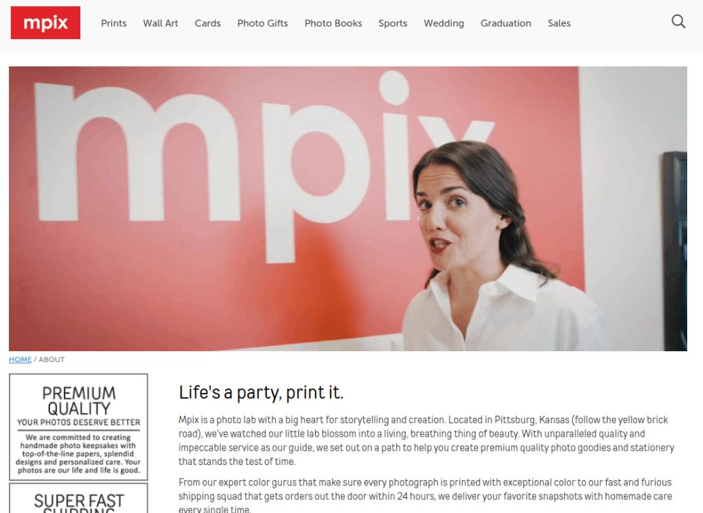 about mpix image
