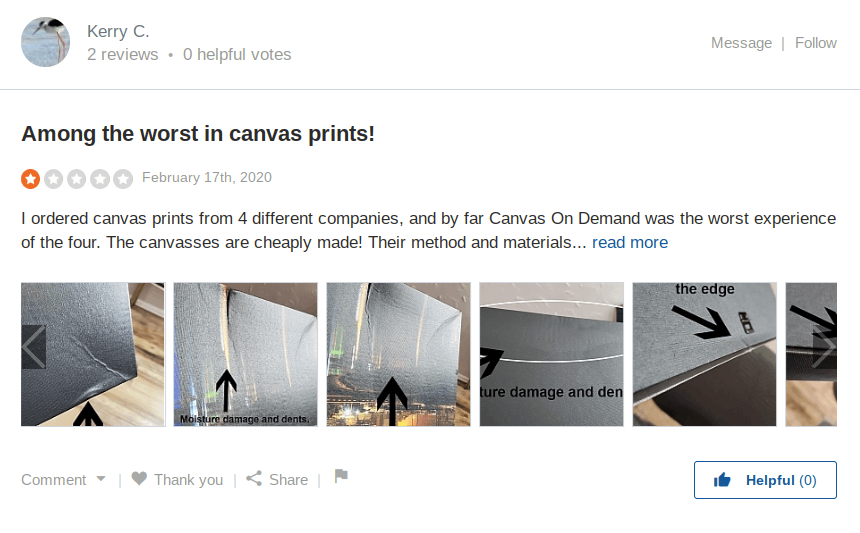canvas on demand reviews image