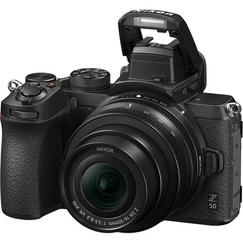 Nikon Z50 Build Handling