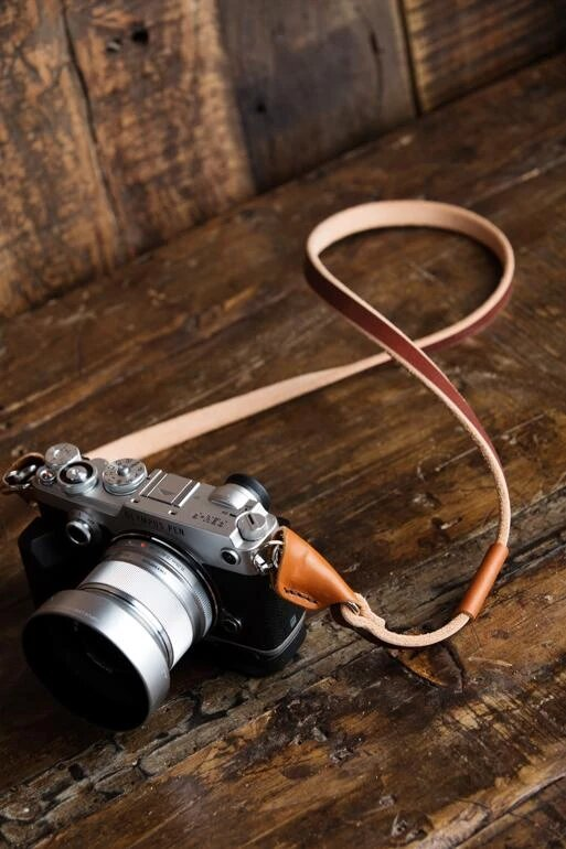 inexpensive leather camera strap 2 image