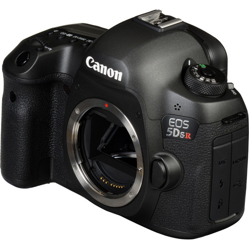 Canon 5DS R Build Handling