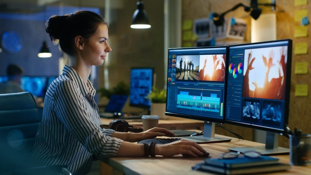 monitors for photo editing image