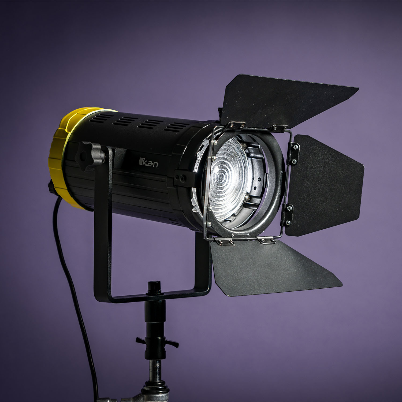 Helia 150 Watt 4 Inch Fresnel Bi Color LED Studio Light 1 image