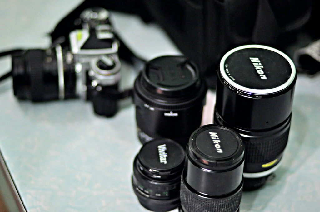 Membersihkan Lensa dan Filter gambar Anda