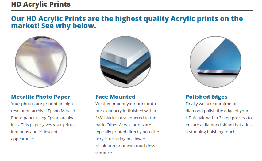 acrylic print buyers guide features image