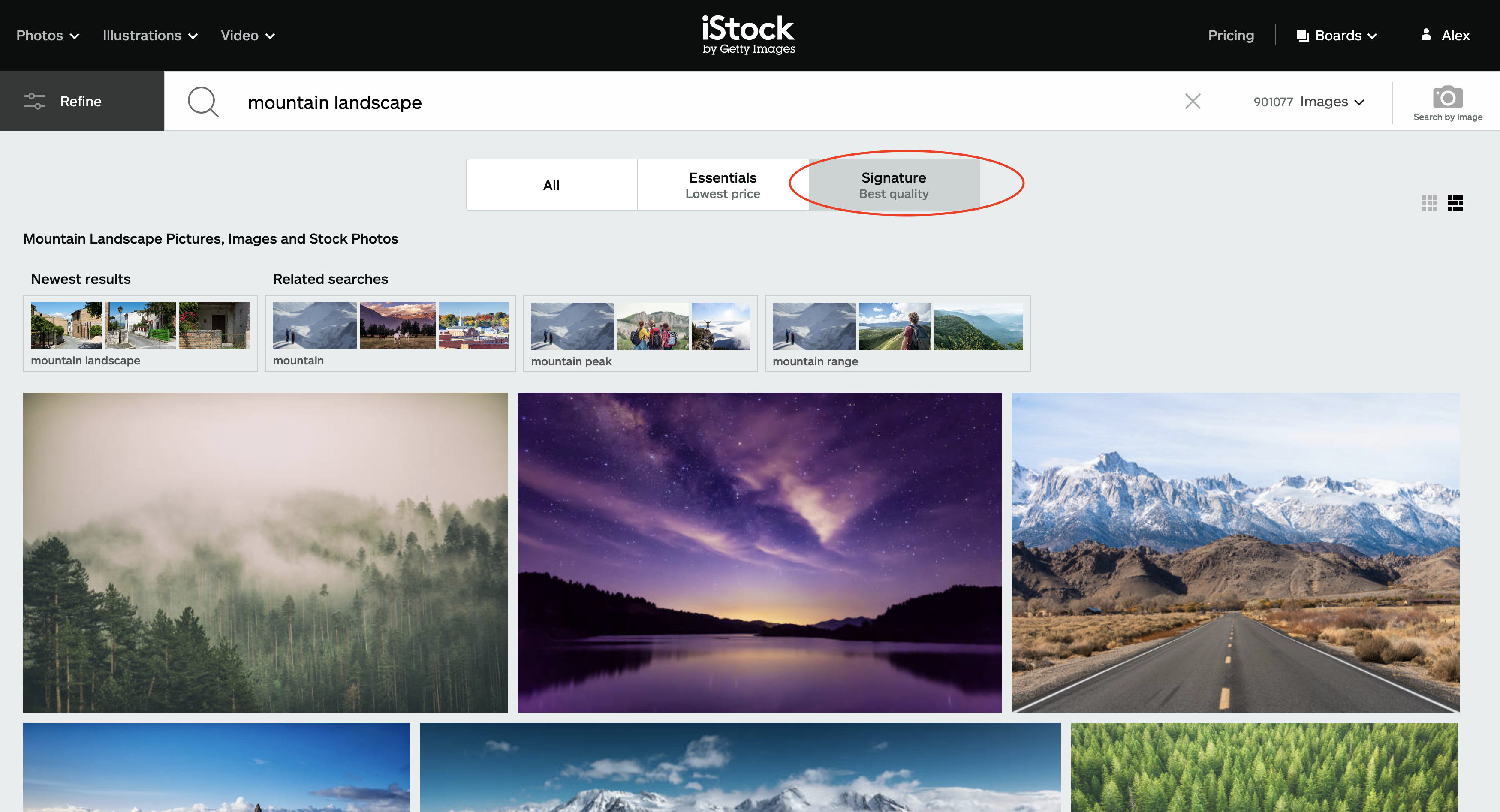 stock photography success tip 2a image