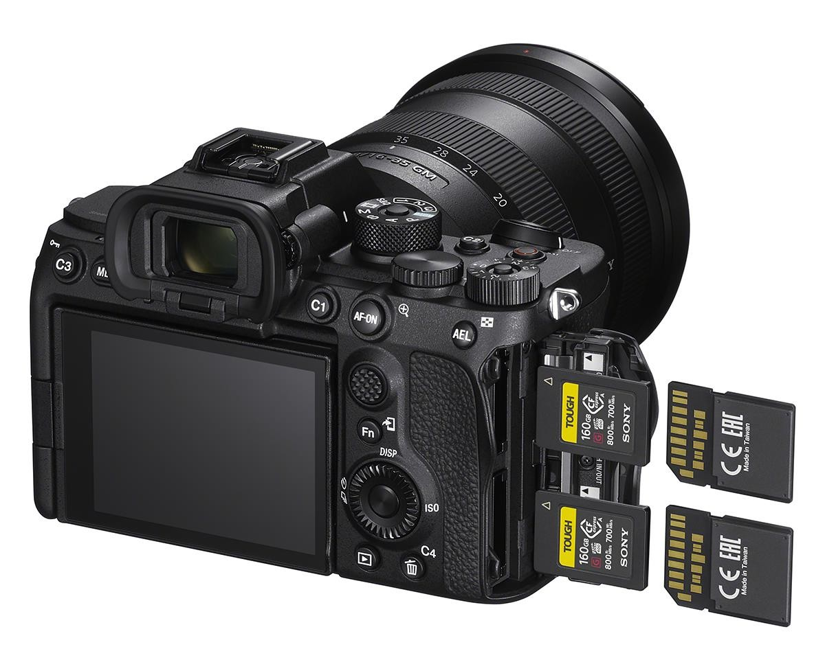 sony a7s iii memory cards image