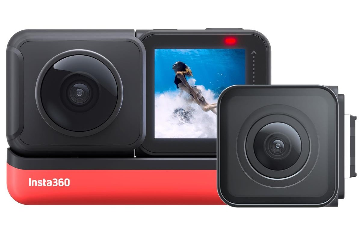 insta360 one r under 500 gift guide image