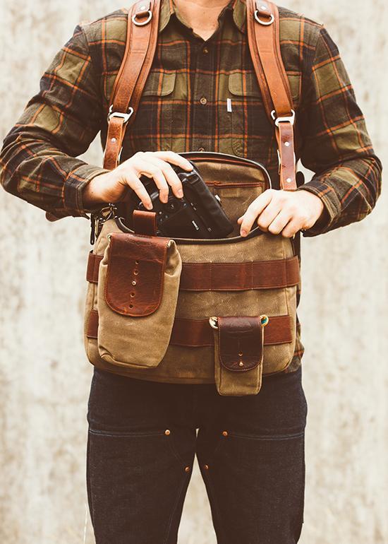 camera shoulder bag image