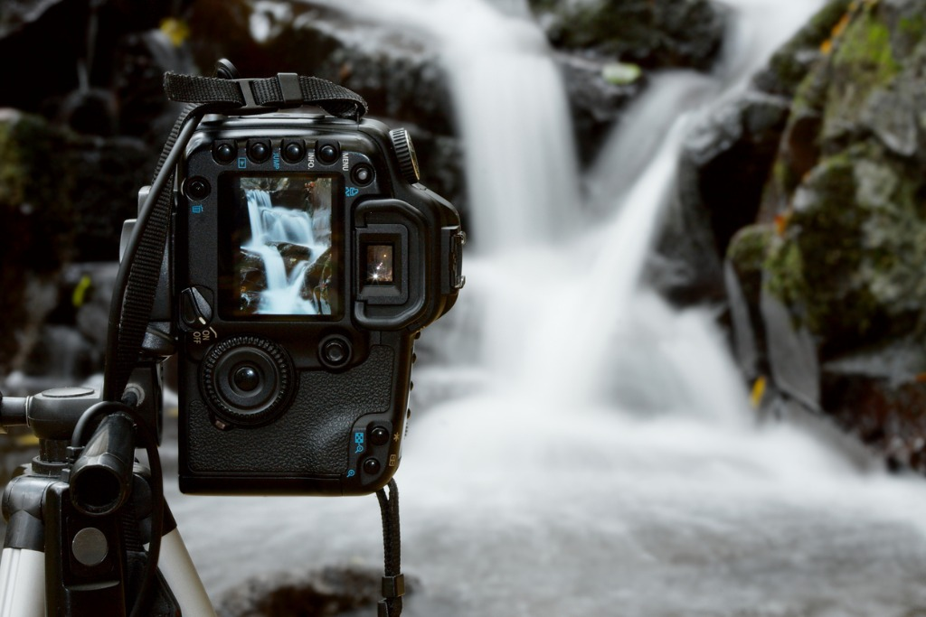 photographing waterfalls image