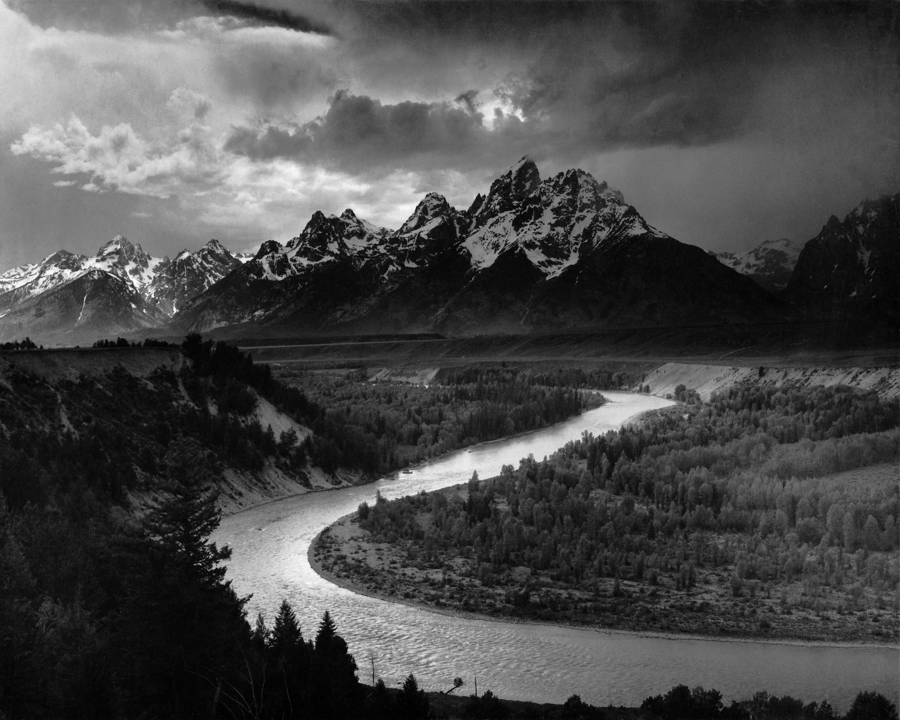 Adams The Tetons and the Snake River image