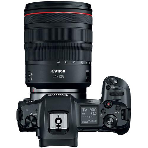 Canon EOS R Body Design image
