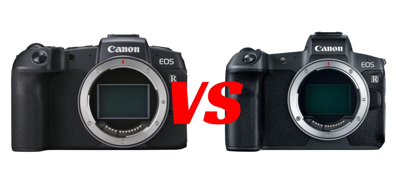 canon eos rp vs canon eos r image