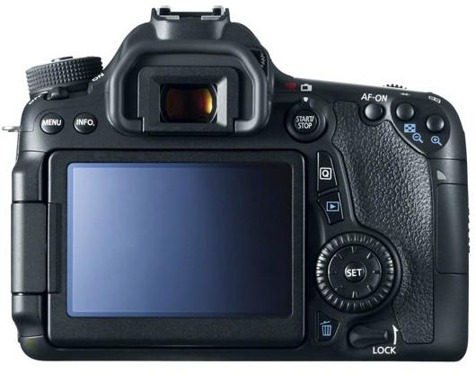 Canon EOS 70D Body Design image
