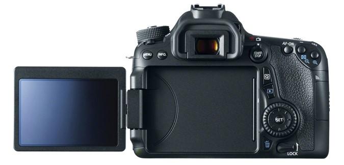 Canon EOS 70D Build Handling image