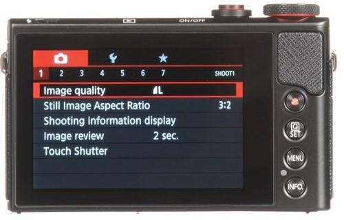 Canon PowerShot G9 X Mark II Body Design 3 image