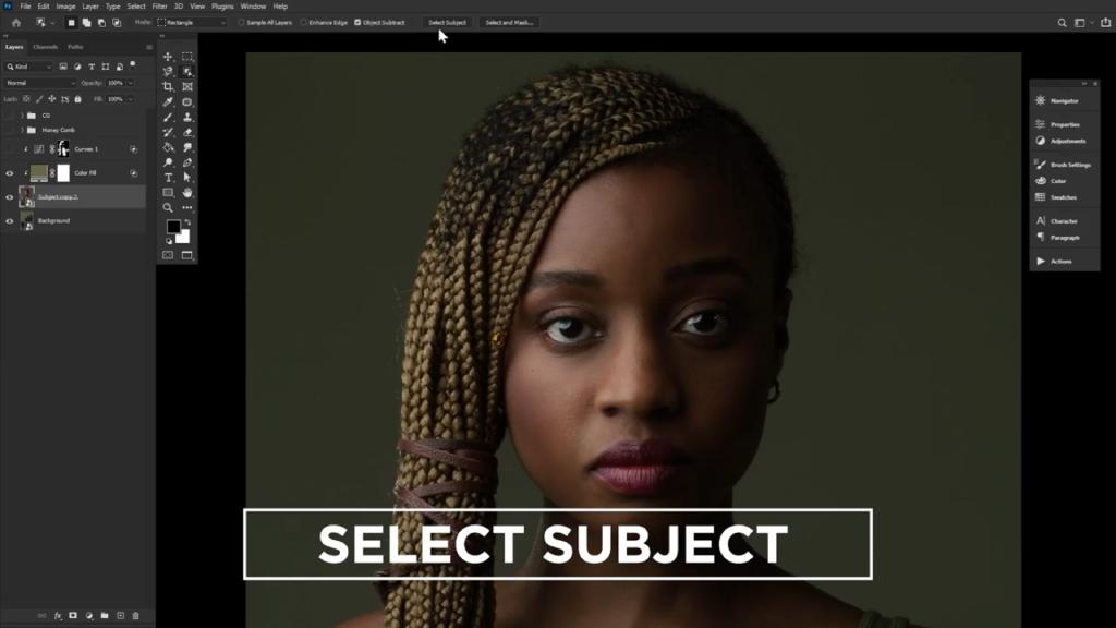 select subject