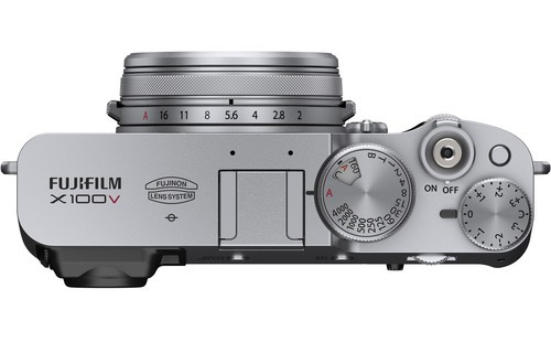 fujifilm x100v body and design image