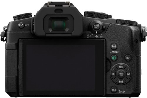 Panasonic G85 Body Design image