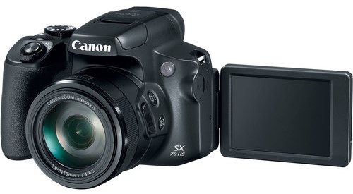 Canon PowerShot SX70 HS Body Design 1 image
