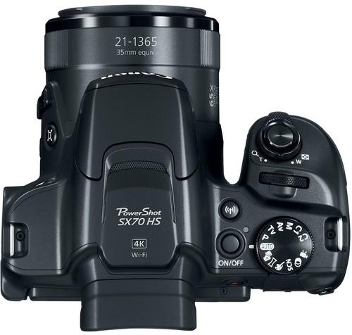 Canon PowerShot SX70 HS Build Handling 1 image
