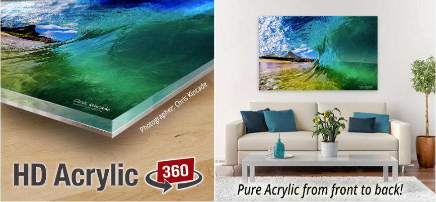 hd acrylic 360 image
