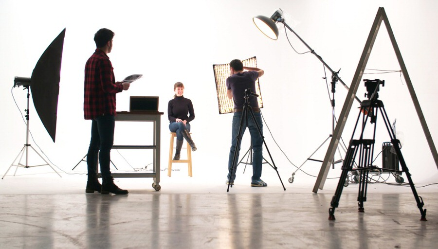 1 softbox for portrait photography image