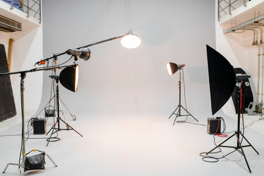 2 softbox for portrait photography image
