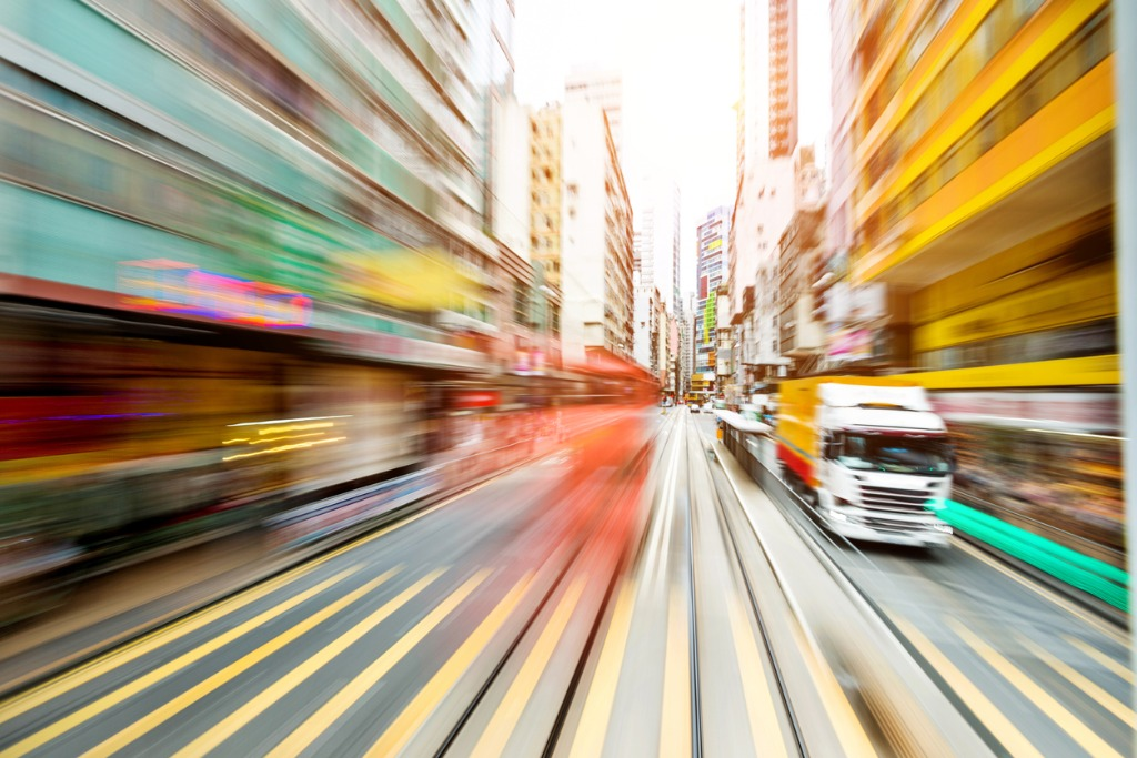 how to capture motion blur image