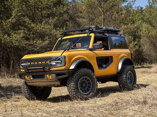 2021 Ford Bronco Review image