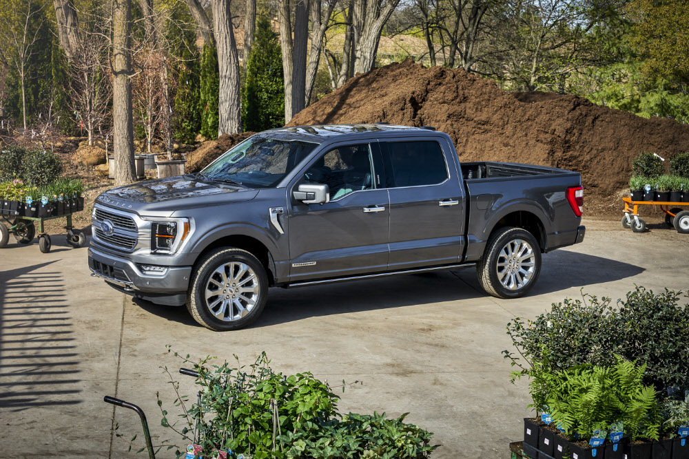 Ford Has Just Introduced a Self Weighing F 150 image