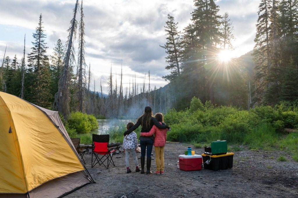 How to Choose a Great Campsite image