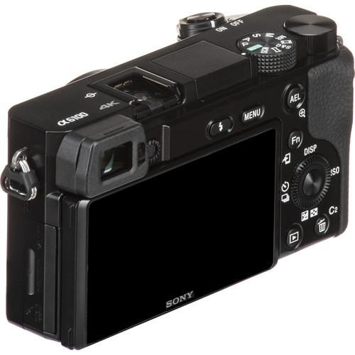 Sony a6100 Body Design image