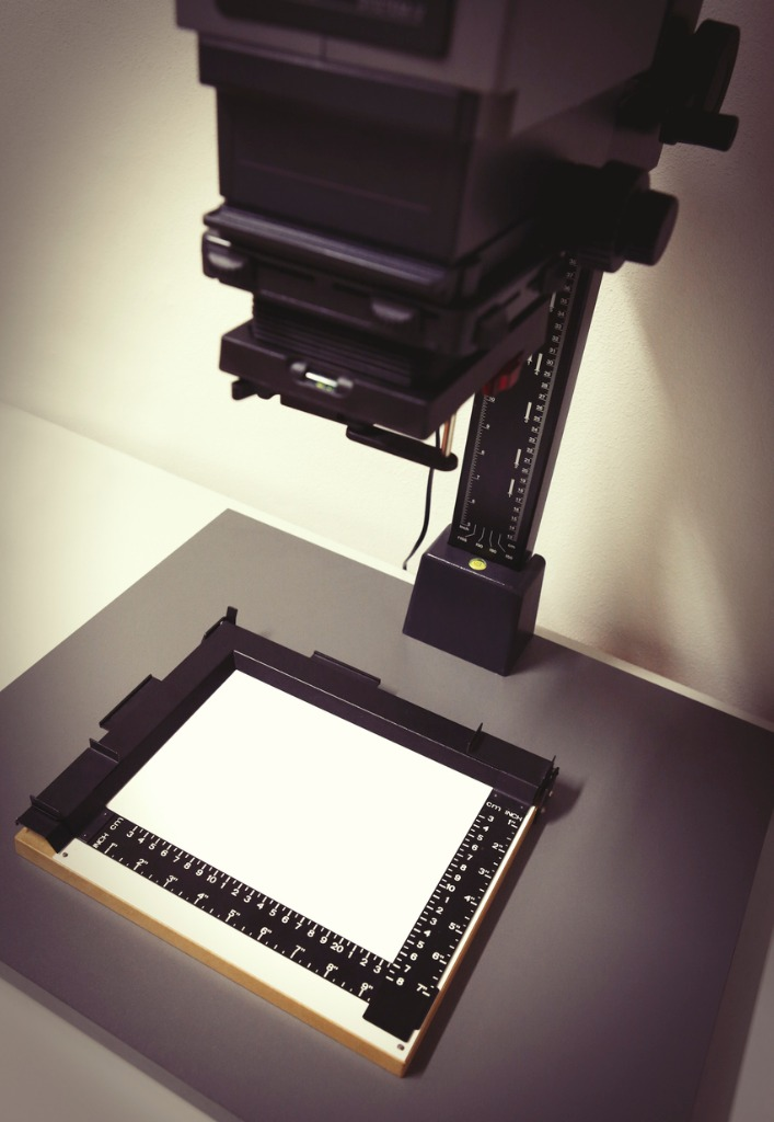 using a film camera 1