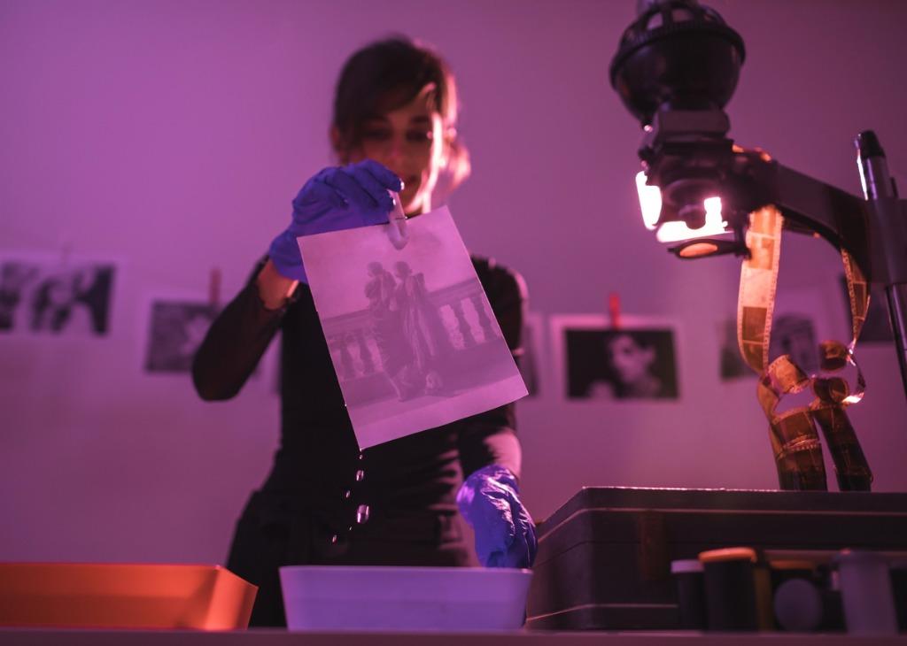 using a film camera 2