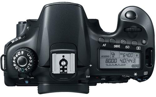 Canon EOS 60D Body Design image