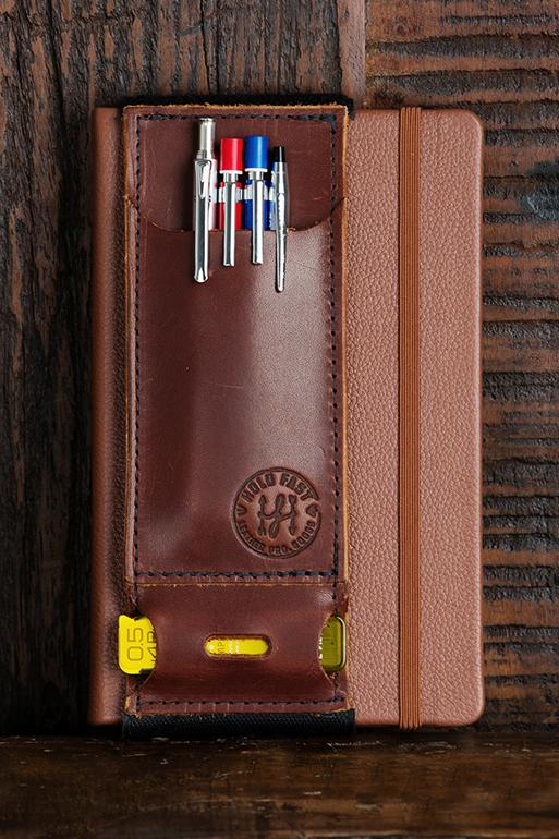 Leather Pen Caddy image