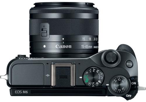 Canon EOS M6 Build Handling  image