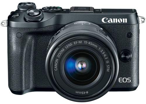 Canon EOS M6 Price  image