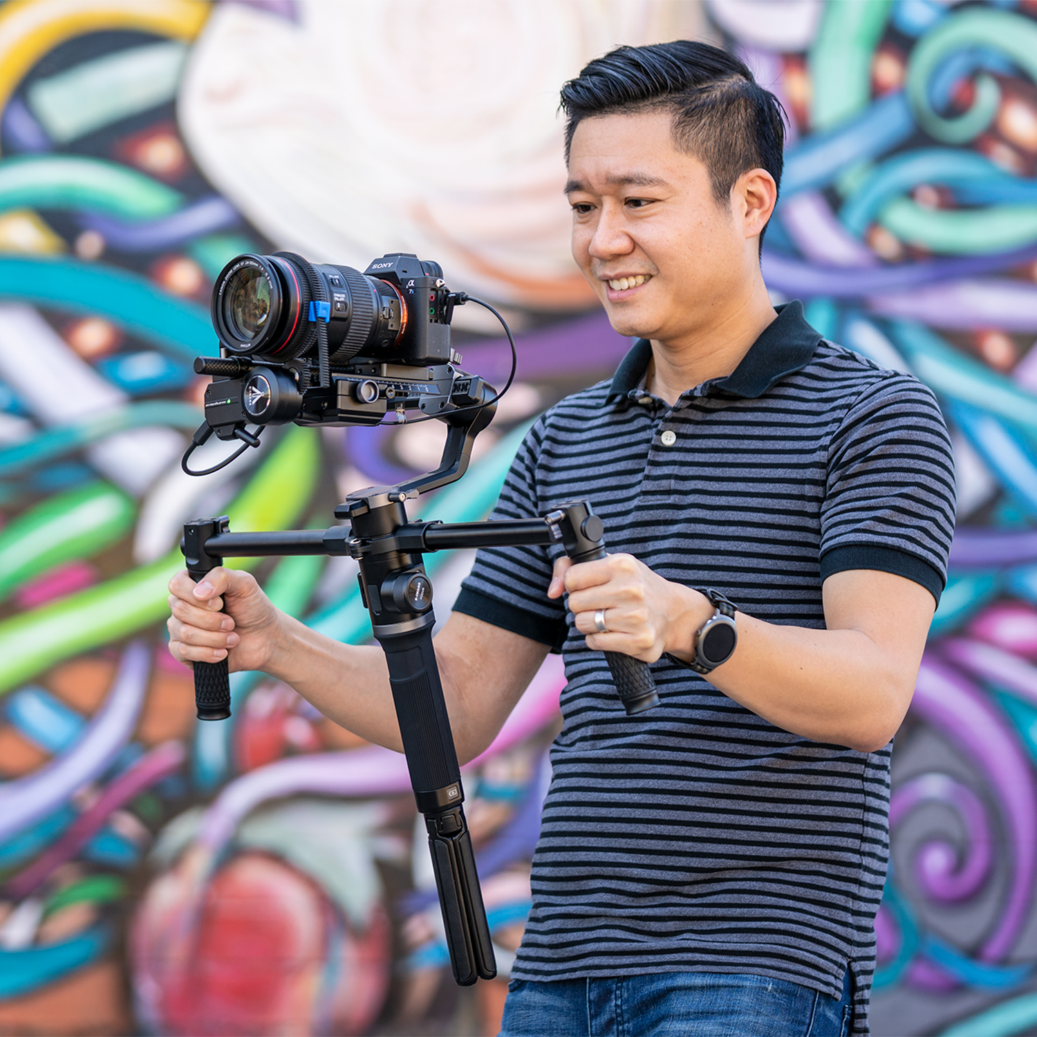 how to use a gimbal image