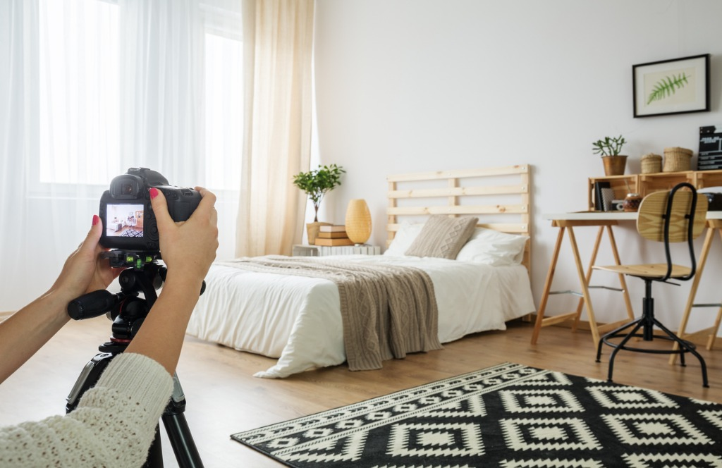 how to photograph interiors for real estate
