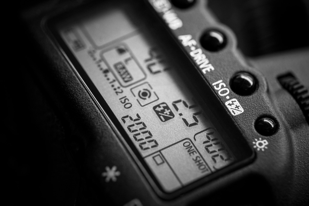 camera settings for astrophotography image