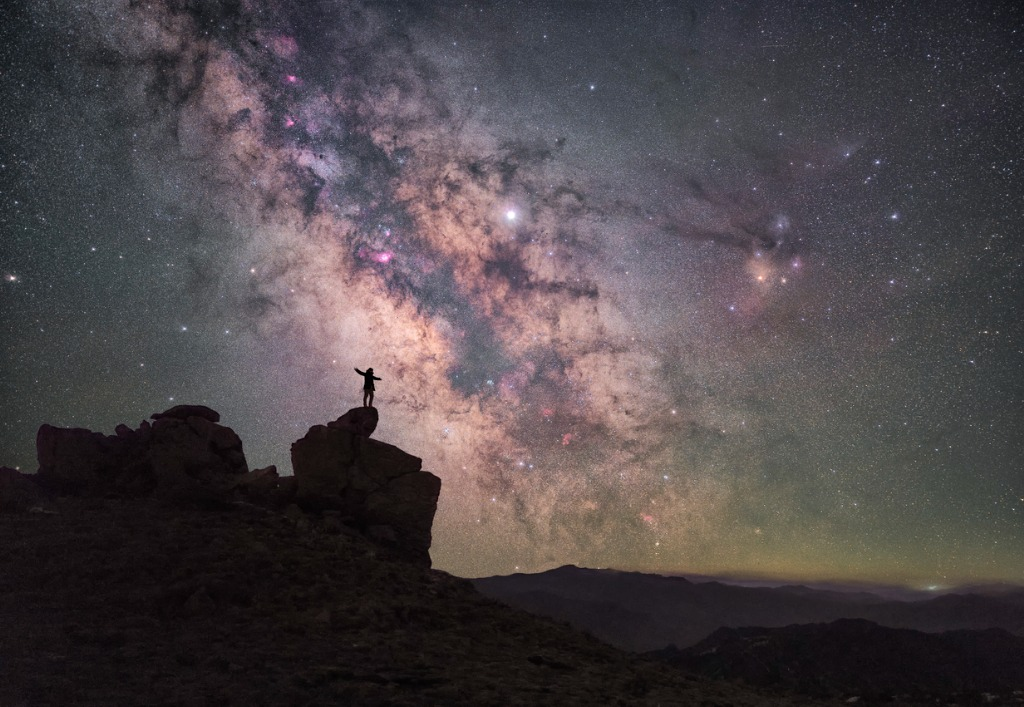 how to photograph the Milky Way image