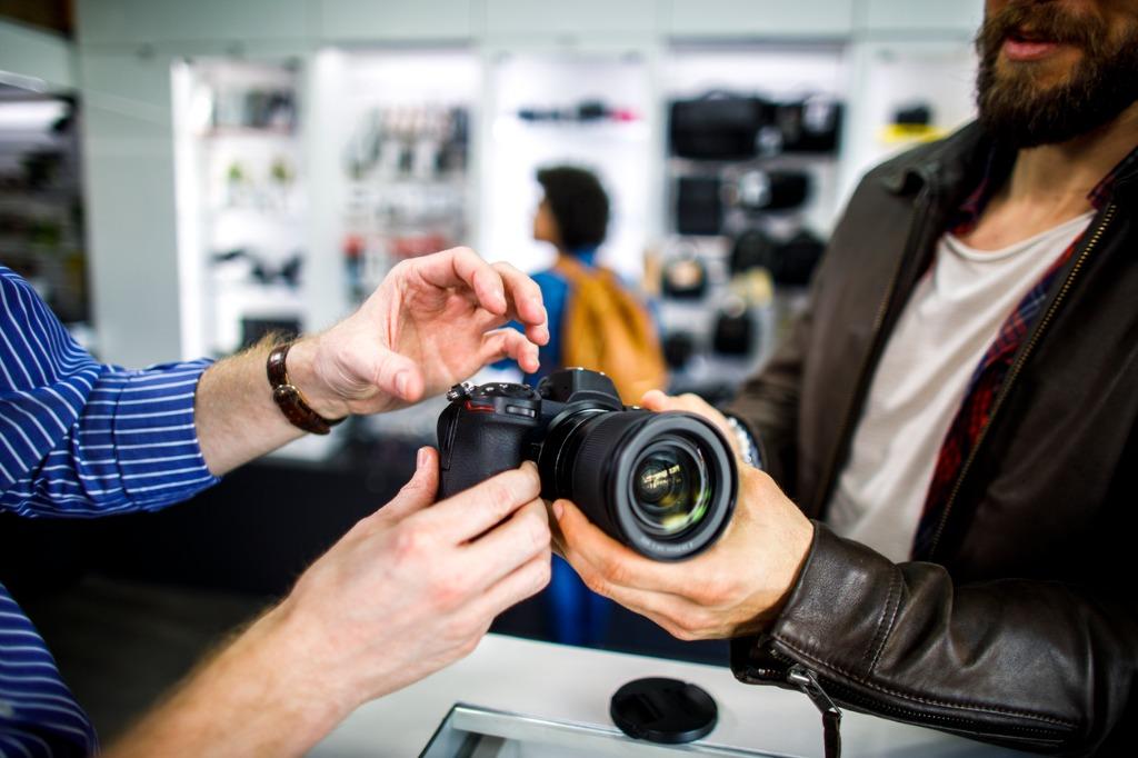 new vs used camera gear image