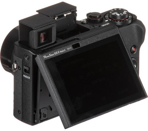 Canon PowerShot G5 X II Body Design image