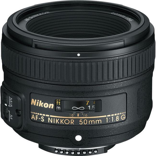 Pre-Owned Nikon AF-S 50mm f/1.8G image