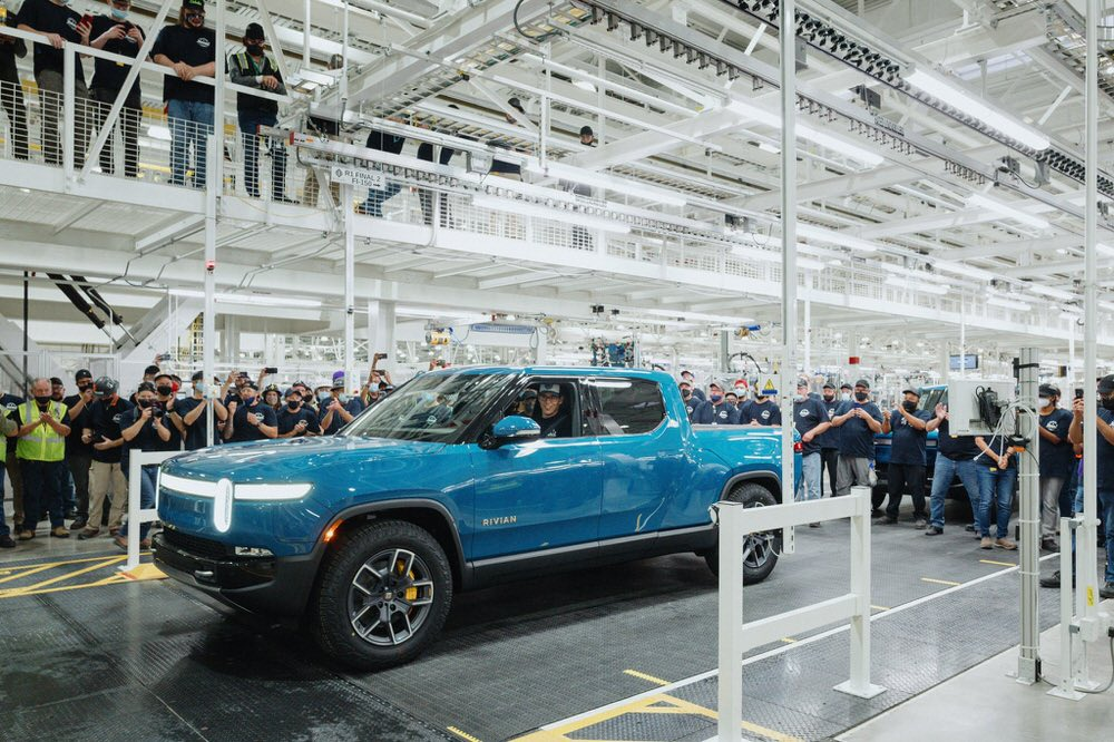 first rivian r1t 1 image