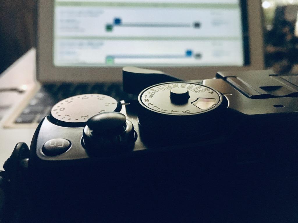 old camera gear image