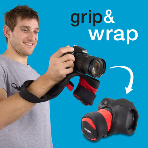Grip And Wrap DSLR