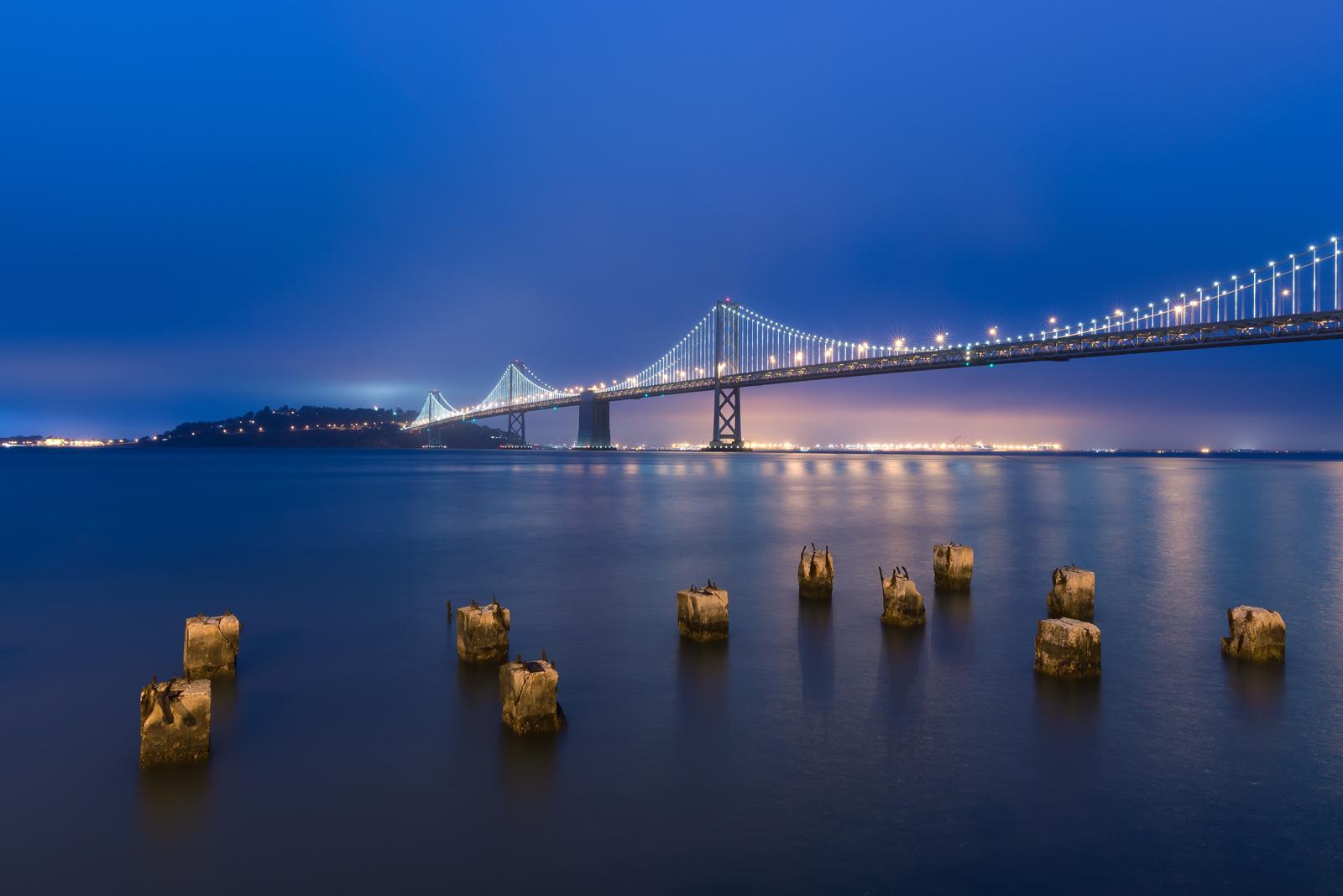 Blue Hour Bay Bridge